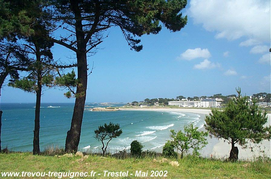 Studio vue plage de Trestel Trévou Tréguignec